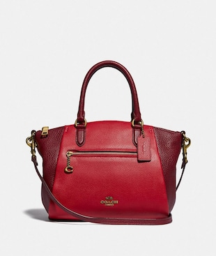 ELISE SATCHEL IN BLOCKFARBEN