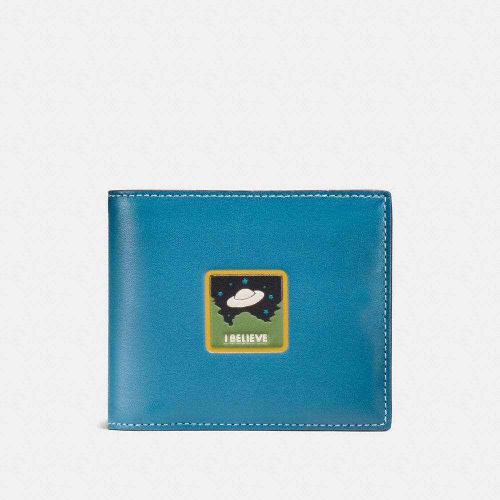 3-IN-1 WALLET WITH UFO BELIEVE