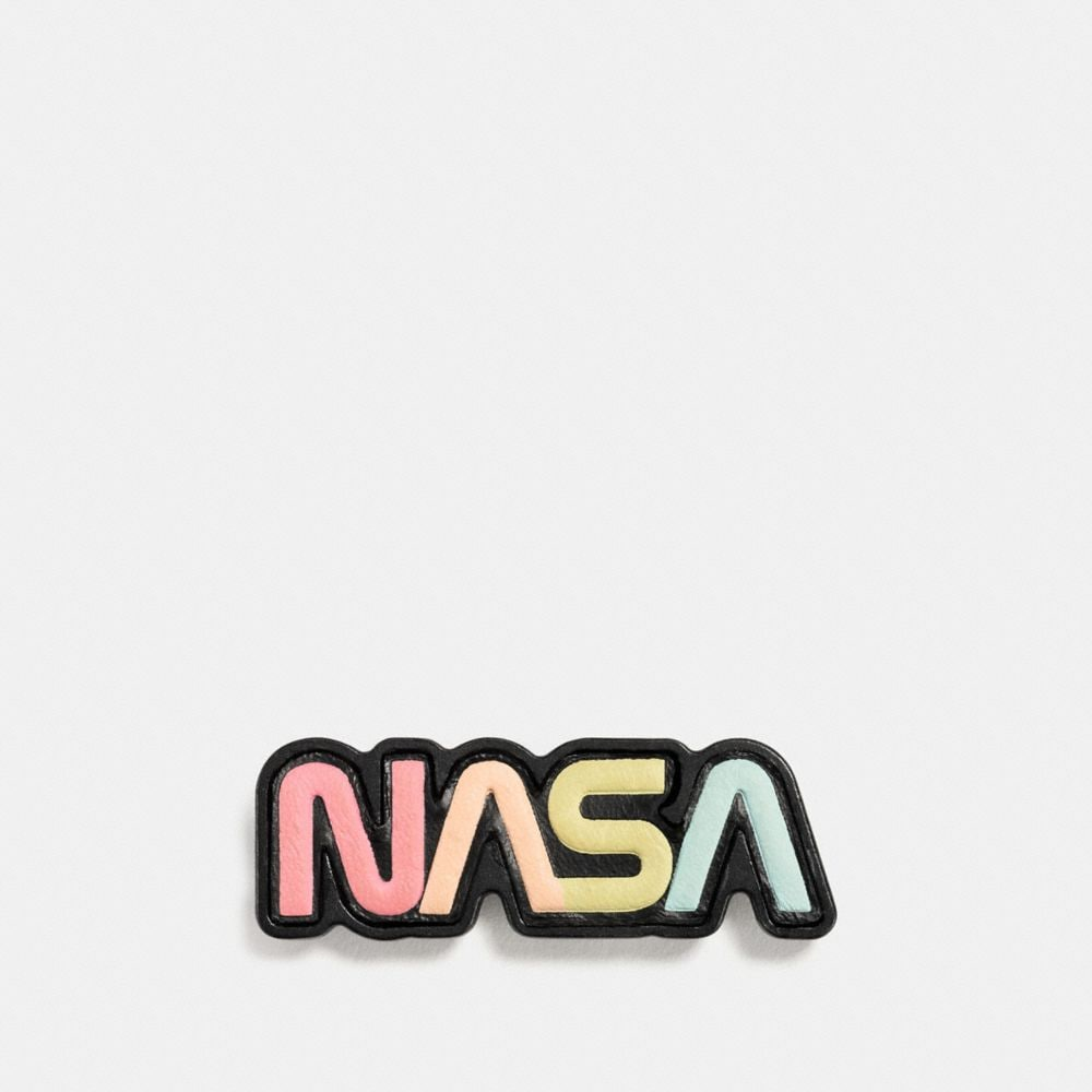 SPACE LEATHER PIN
