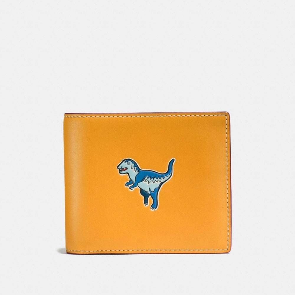 3-IN-1 WALLET IN GLOVETANNED LEATHER WITH REXY