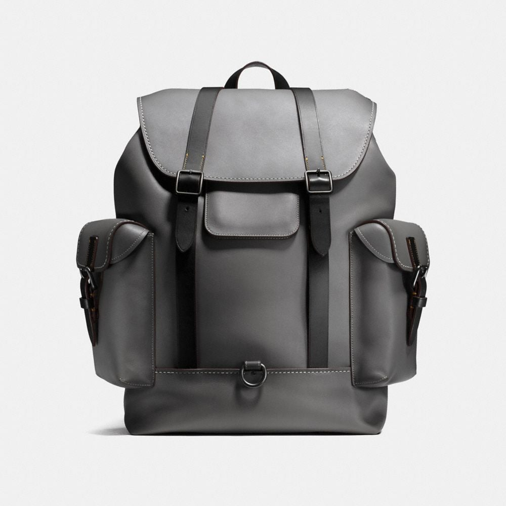GOTHAM BACKPACK IN BURNISHED GLOVETANNED LEATHER