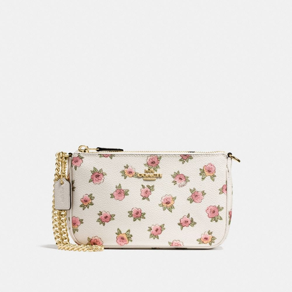 NOLITA WRISTLET 19 WITH FLOWER PATCH PRINT