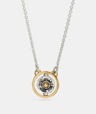 SPINNING WILLOW FLORAL SIGNATURE NECKLACE