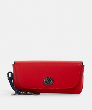 SUNGLASS CASE IN COLORBLOCK