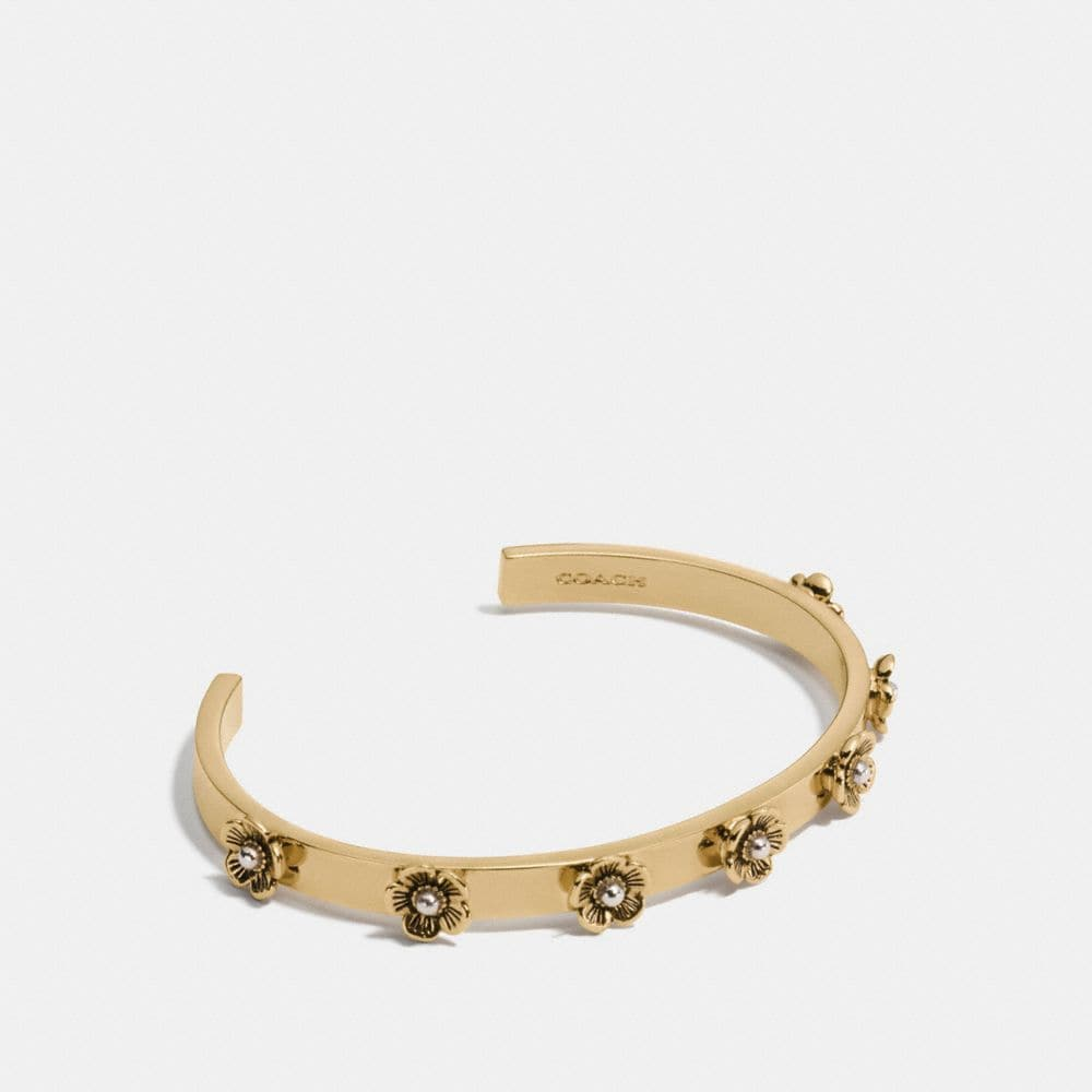 DITSY WILLOW FLORAL OPEN CUFF