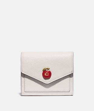 SMALL WALLET WITH APPLE PRINT