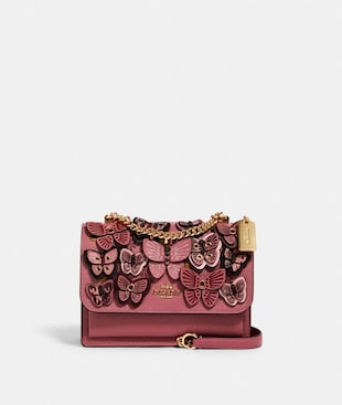 KLARE CROSSBODY WITH BUTTERFLY APPLIQUE