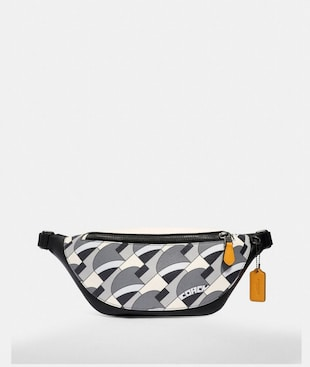 WARREN BELT BAG WITH DECO BRIDGE GEO PRINT