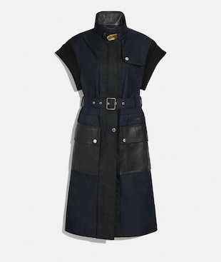SLEEVELESS TRENCH