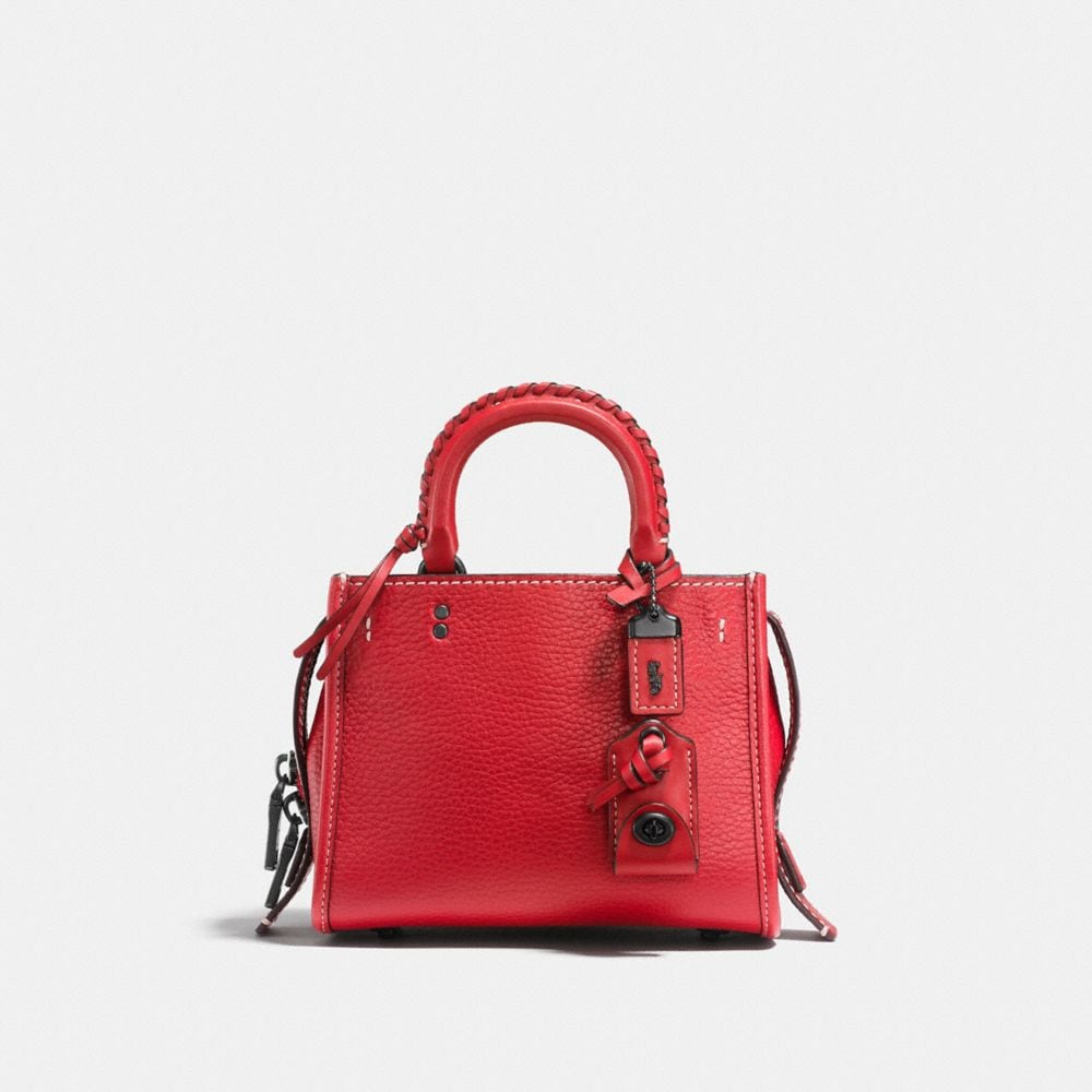 ROGUE 17 IN COLORBLOCK LEATHER WITH EMBELLISHED HANDLE