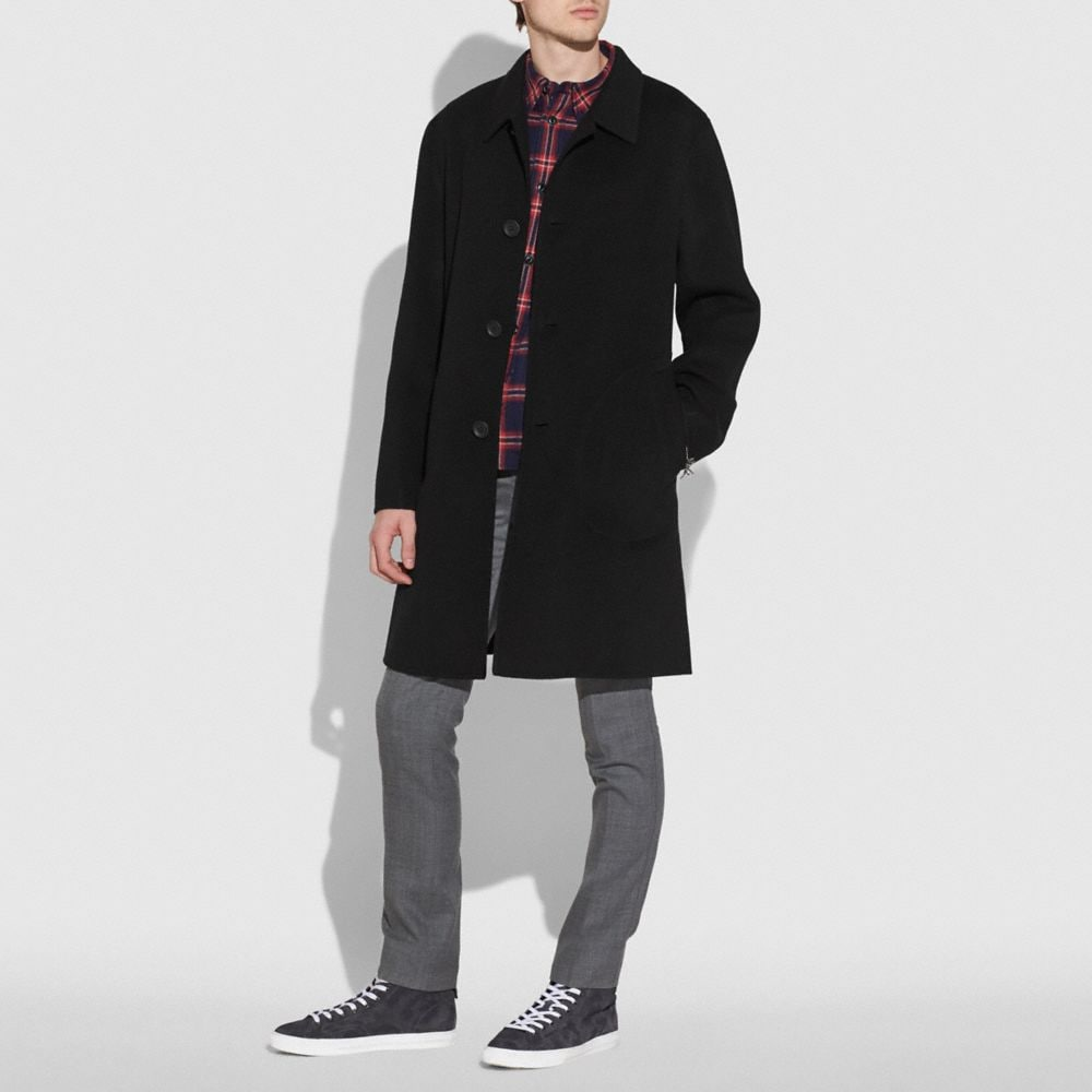 MANTEAU DOUBLE FACE