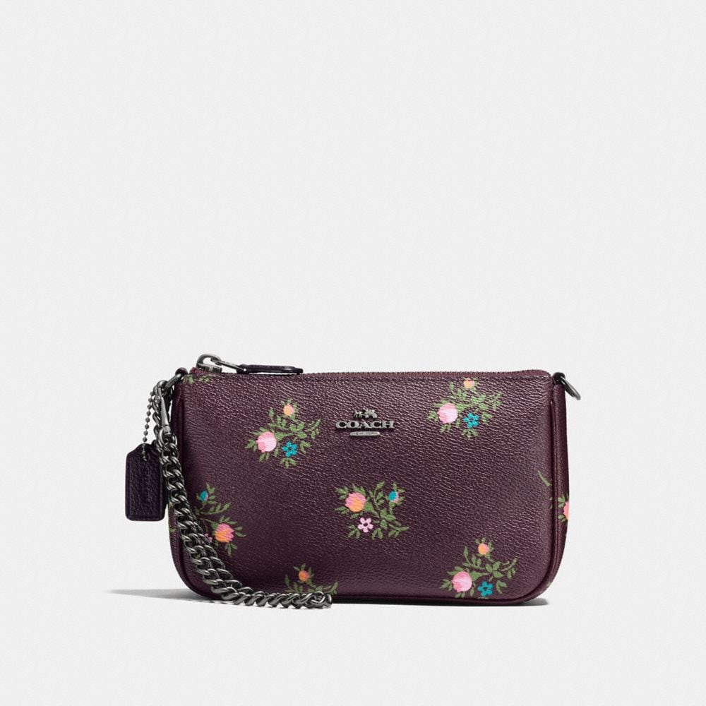 NOLITA WRISTLET 19 WITH CROSS STITCH FLORAL PRINT