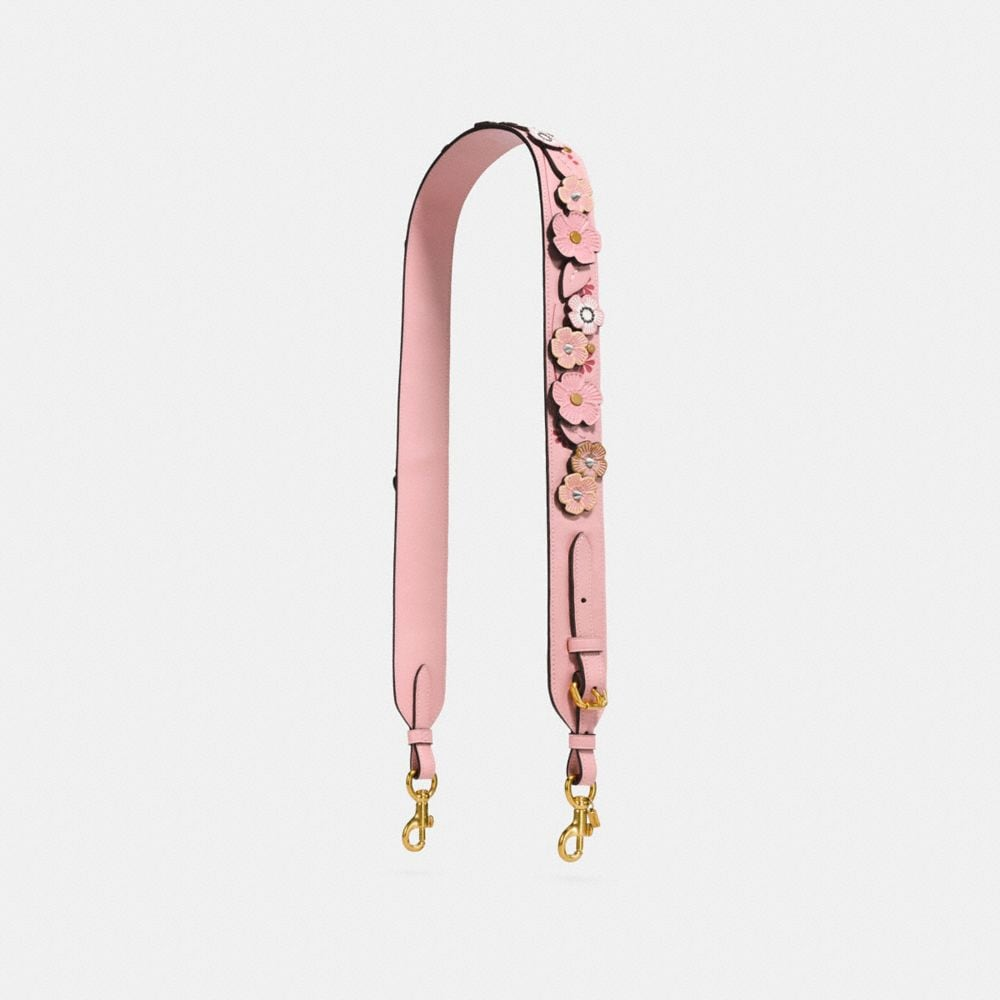 NOVELTY STRAP WITH TEA ROSE