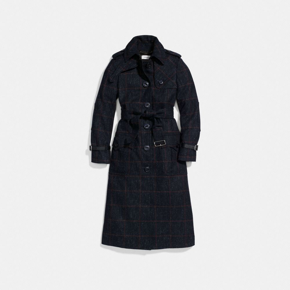 WOOL TRENCH COAT