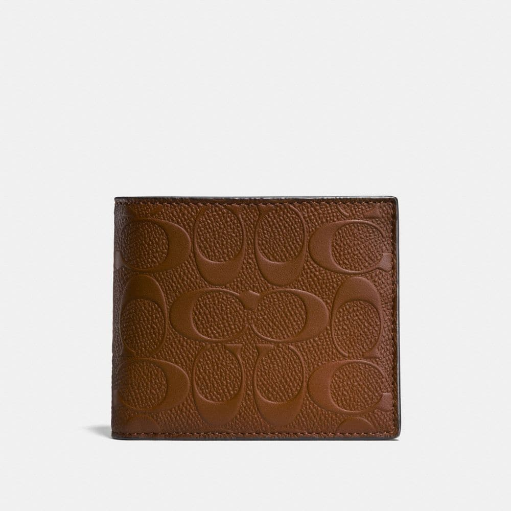 3-IN-1 WALLET IN SIGNATURE LEATHER