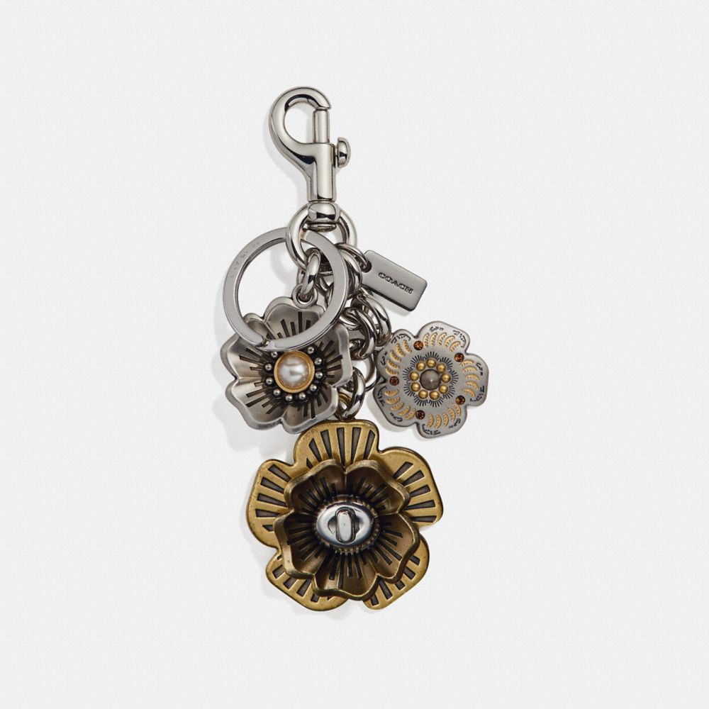 TEA ROSE MULTI BAG CHARM