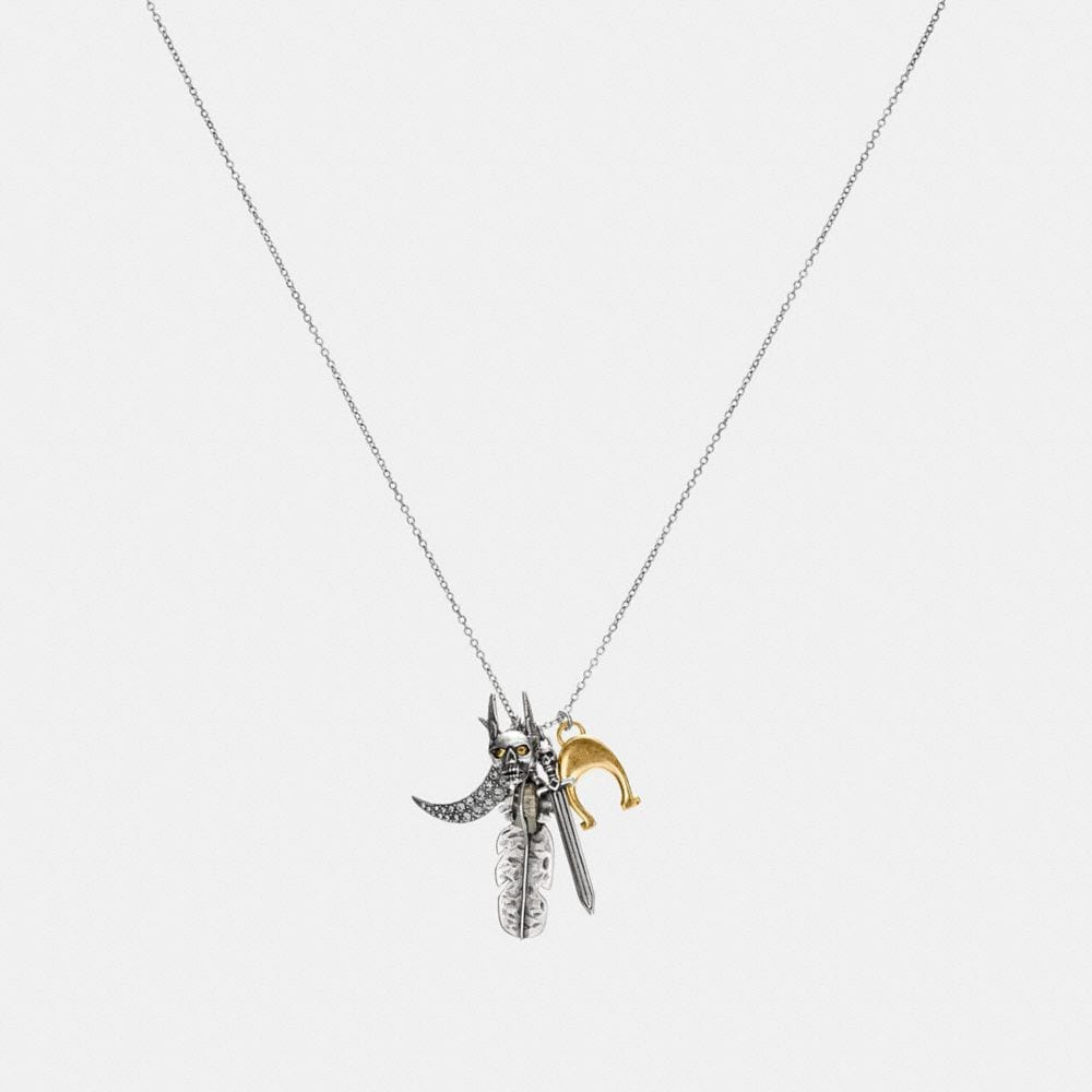 FOUND OBJECTS PENDANT NECKLACE