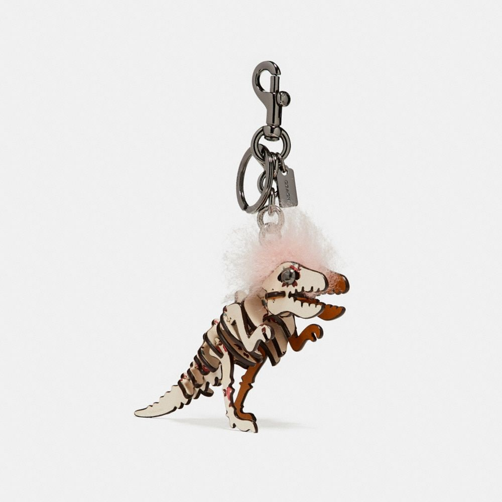 SMALL PRINTED MOHAWK REXY BAG CHARM