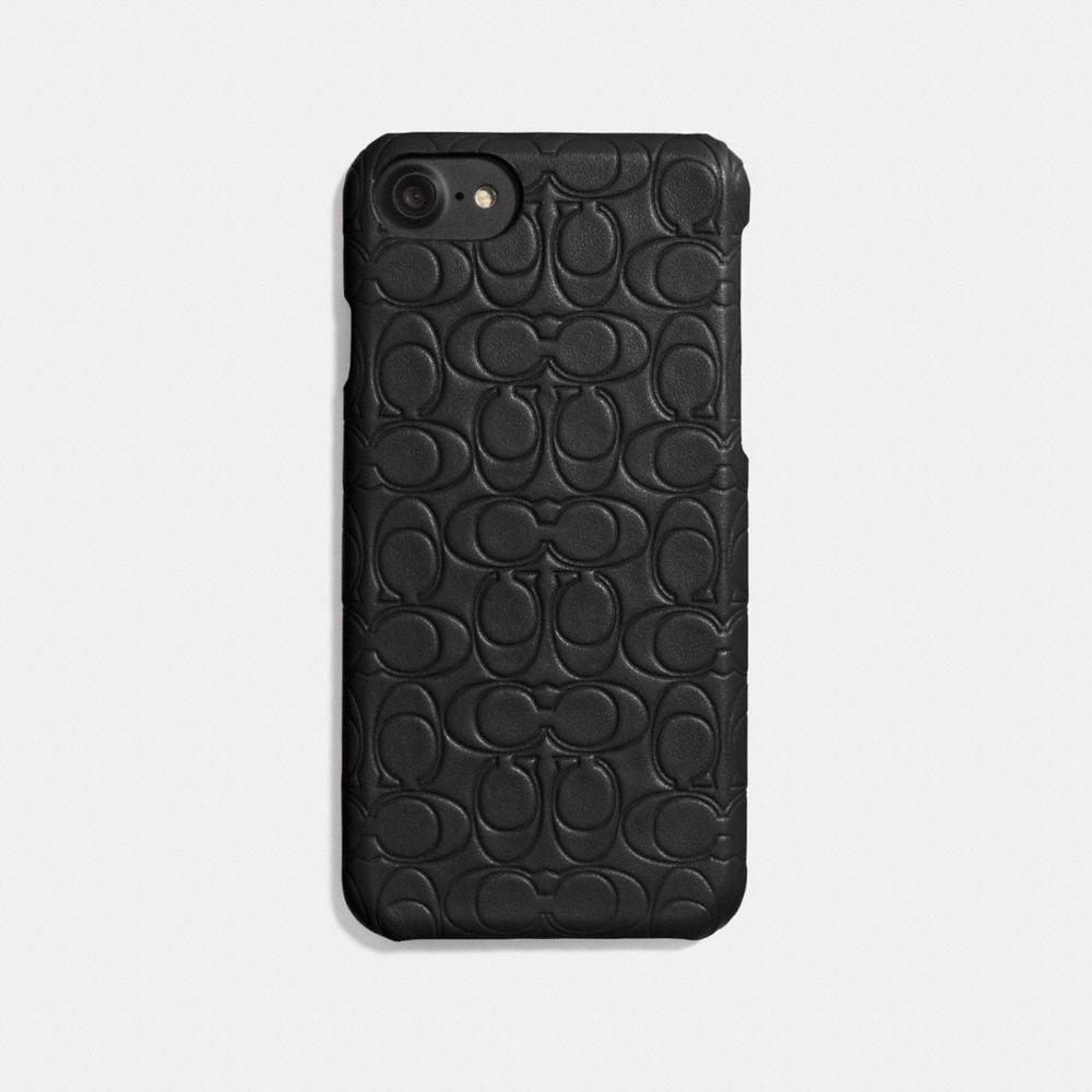 IPHONE 7/X CASE IN SIGNATURE LEATHER