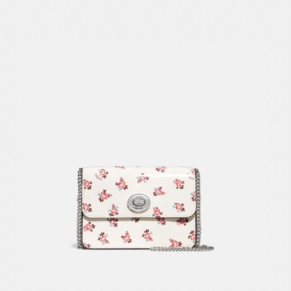 BOWERY CROSSBODY WITH FLORAL BLOOM PRINT