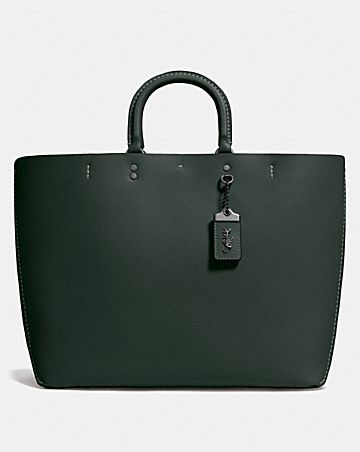Rogue Tote With Fl Bow Print Interior