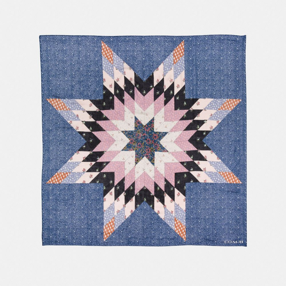 QUILTED PATCHWORK SQUARE