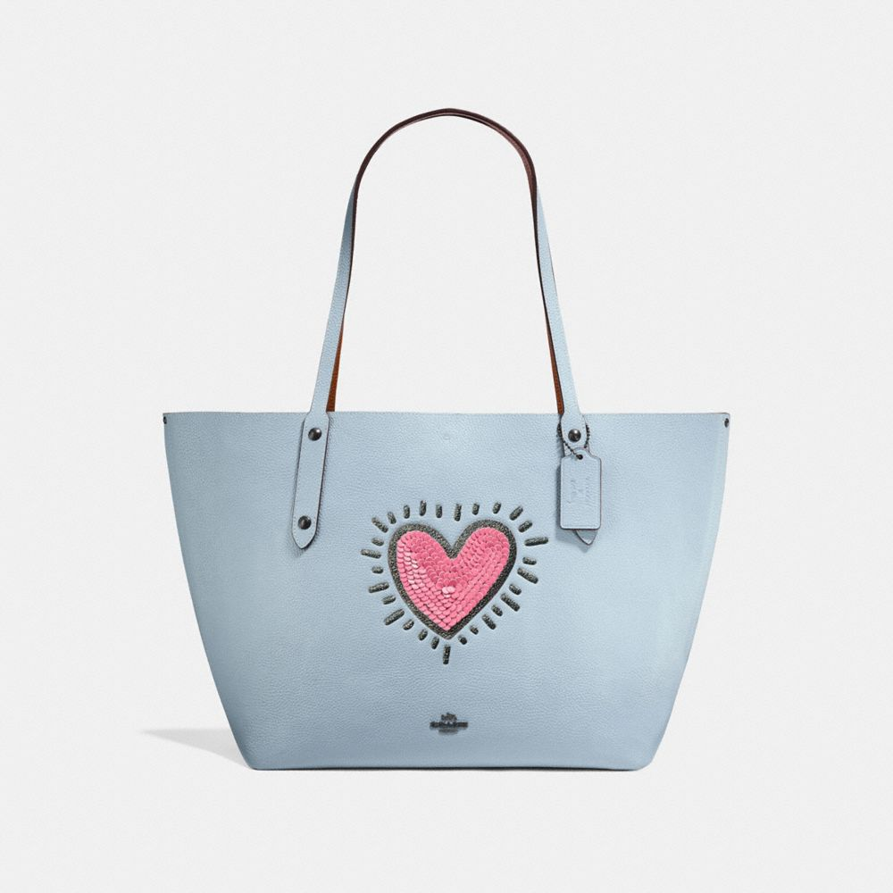 COACH X KEITH HARING MARKET TOTE