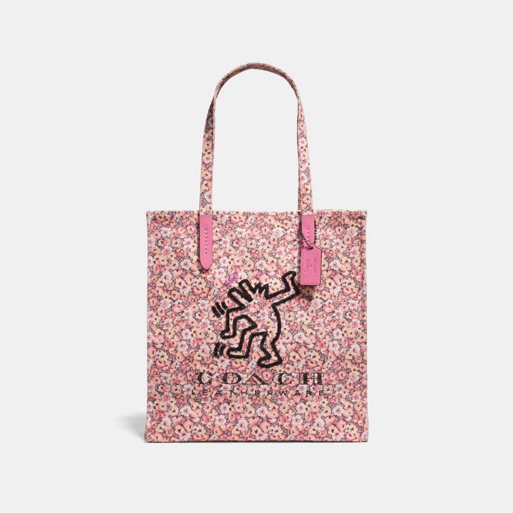 COACH X KEITH HARING TOTE