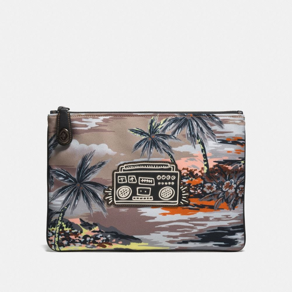 COACH X KEITH HARING POUCH