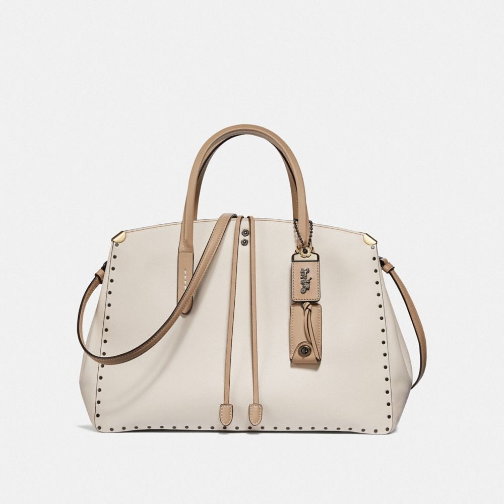 COOPER CARRYALL IN COLORBLOCK WITH BORDER RIVETS