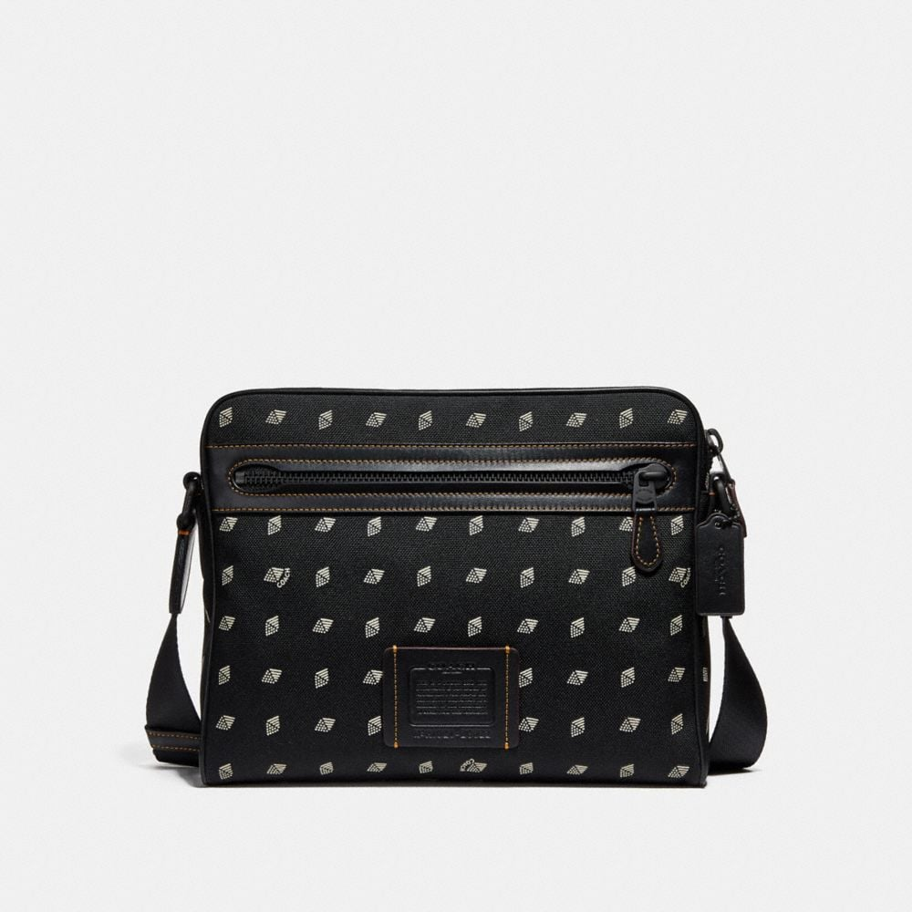 METROPOLITAN CAMERA BAG WITH DOT DIAMOND PRINT
