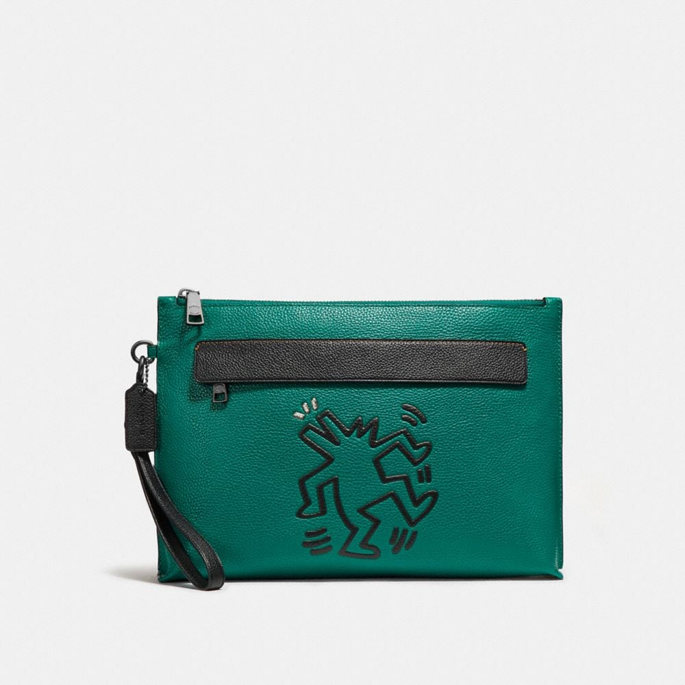POCHETTE COACH X KEITH HARING