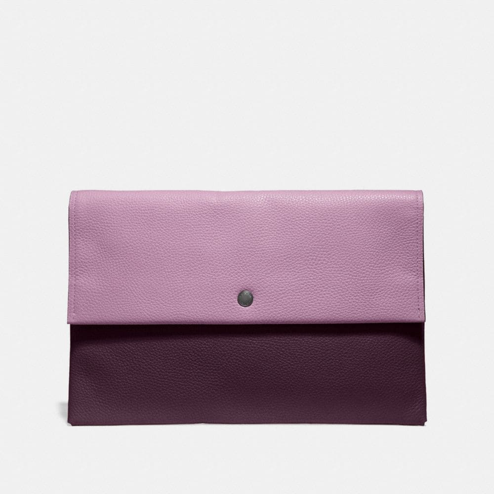 LARGE ENVELOPE POUCH IN COLORBLOCK