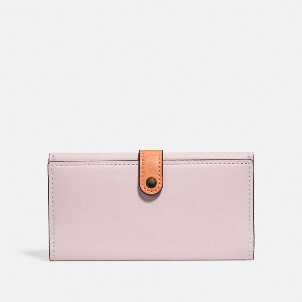 SLIM TRIFOLD WALLET IN COLORBLOCK
