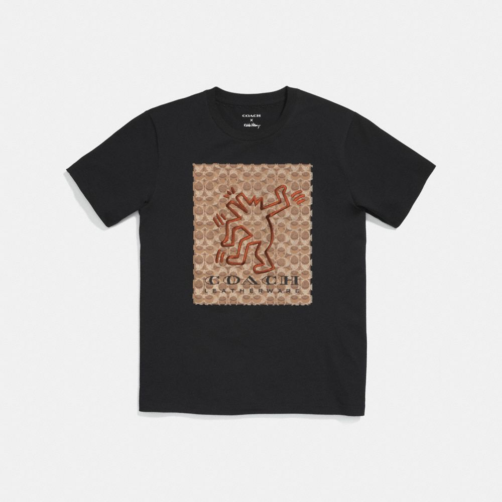 COACH X KEITH HARING SIGNATURE T-SHIRT