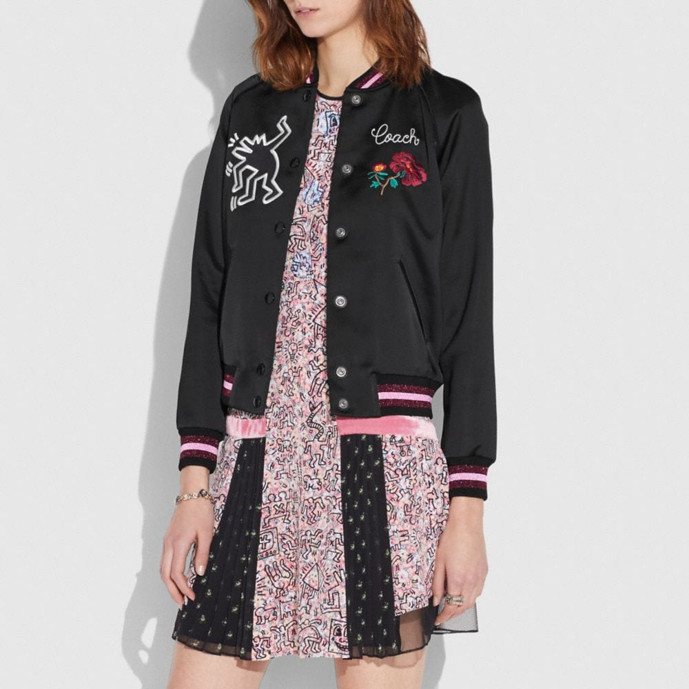 VESTE UNIVERSITAIRE COACH X KEITH HARING