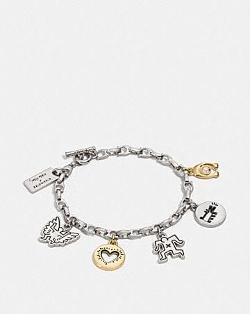 Coach X Keith Haring Charm Bracelet