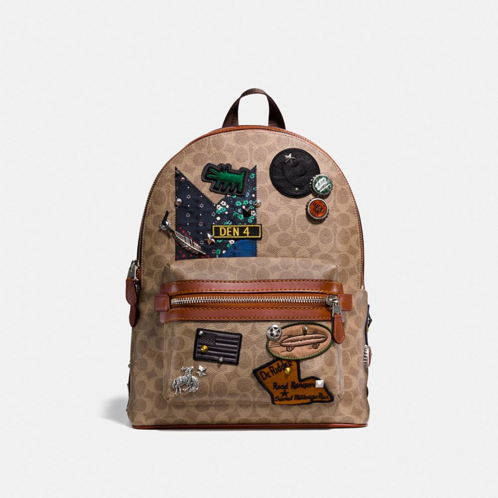 SAC À DOS ACADEMY EN PATCHWORK EXCLUSIF COACH X KEITH HARING