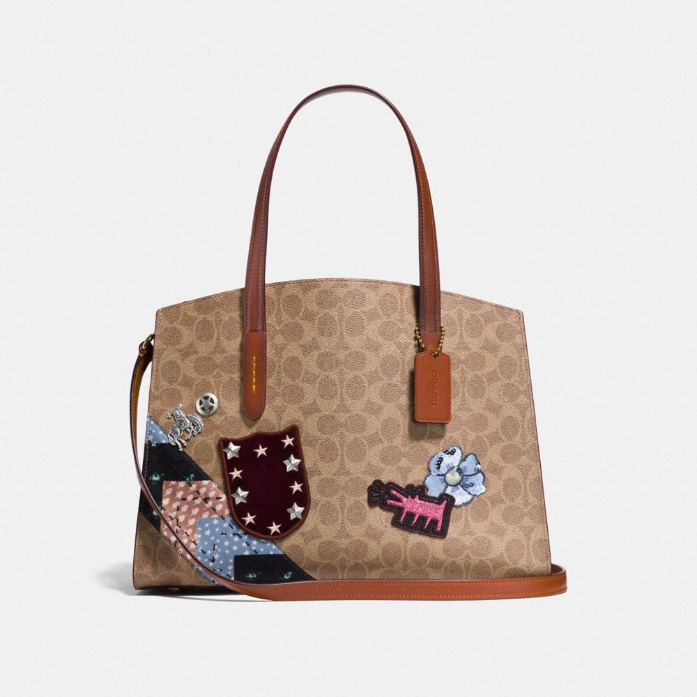 CHARLIE CARRYALL IN SIGNATURE PATCHWORK