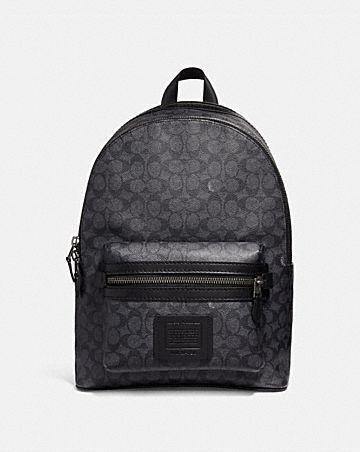 68a6ceeb3722 ACADEMY BACKPACK IN SIGNATURE CANVAS ...