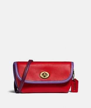 TURNLOCK FLARE BELT BAG IN COLORBLOCK