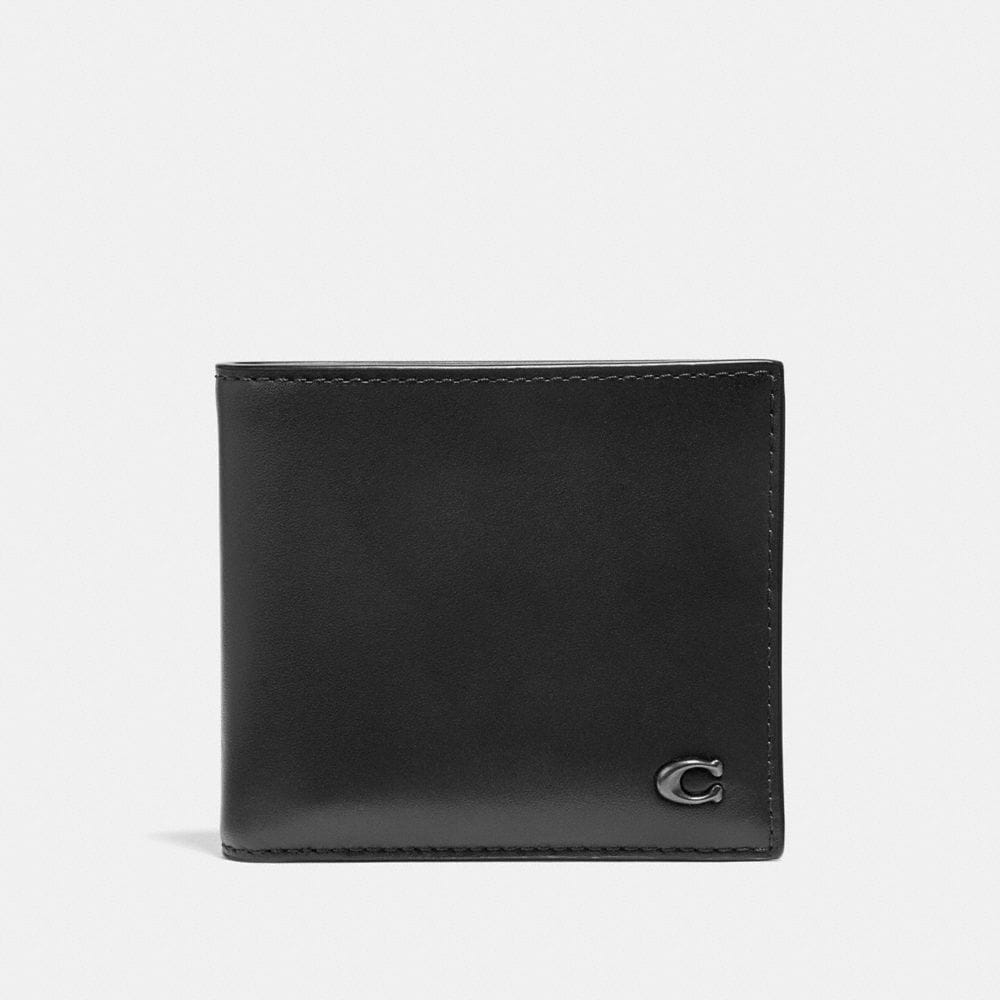 DOUBLE BILLFOLD WALLET WITH SIGNATURE HARDWARE