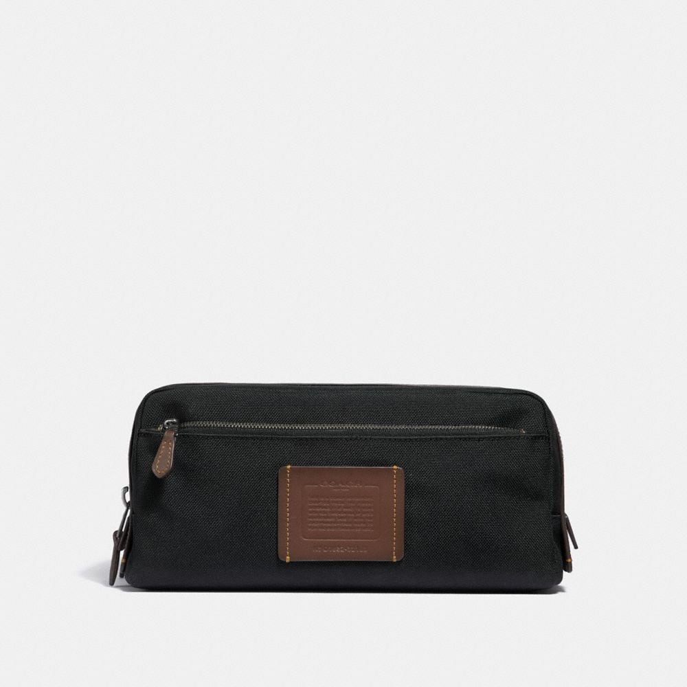 DOUBLE ZIP DOPP KIT IN CORDURA® FABRIC