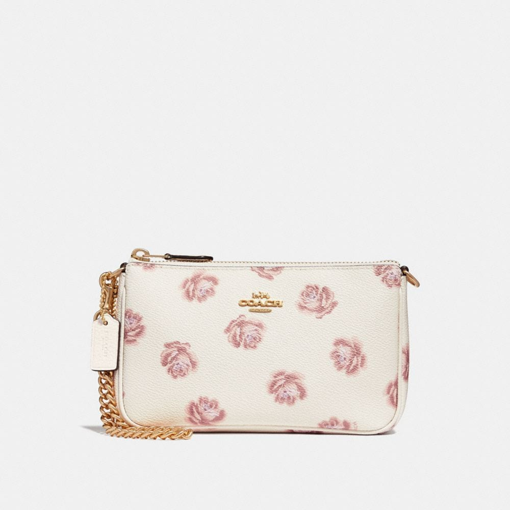NOLITA WRISTLET 19 WITH ROSE PRINT