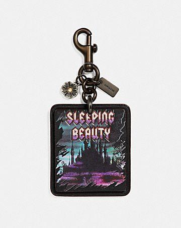 DISNEY X COACH SLEEPING BEAUTY BAG CHARM
