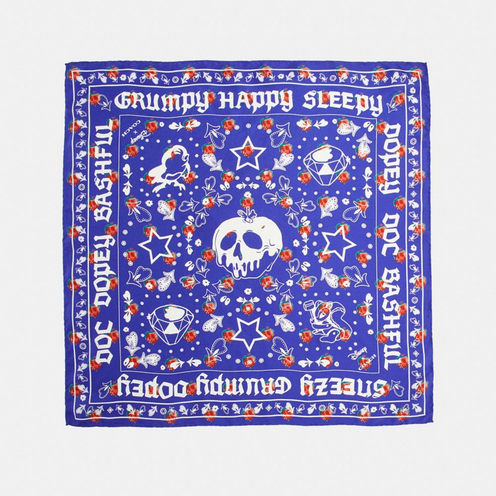 DISNEY X COACH SNOW WHITE BANDANA