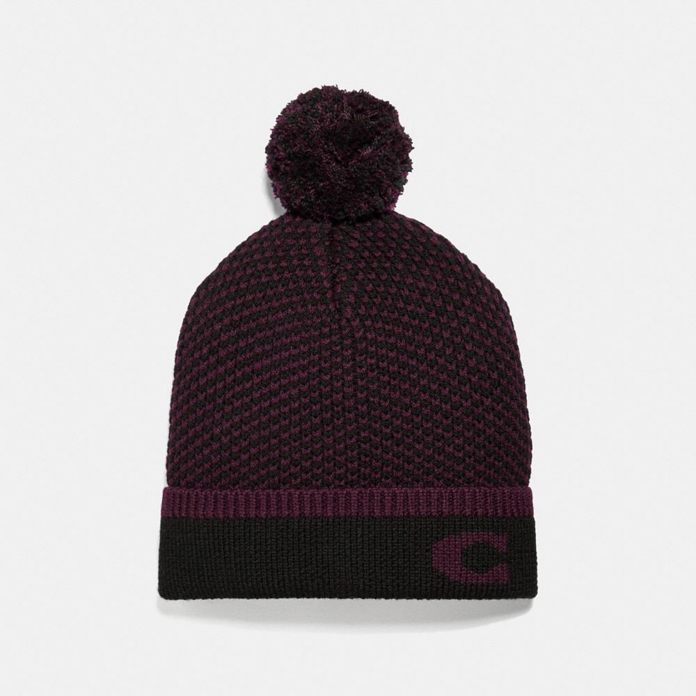 CHEVRON KNIT HAT