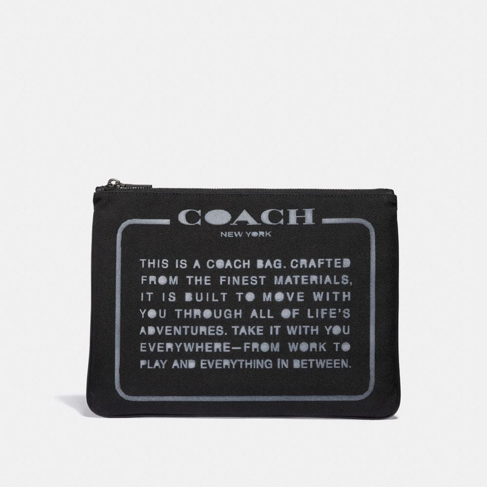 LARGE MULTIFUNCTIONAL POUCH WITH SPRAY STORYPATCH