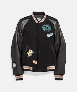 DISNEY X COACH VARSITY JACKET