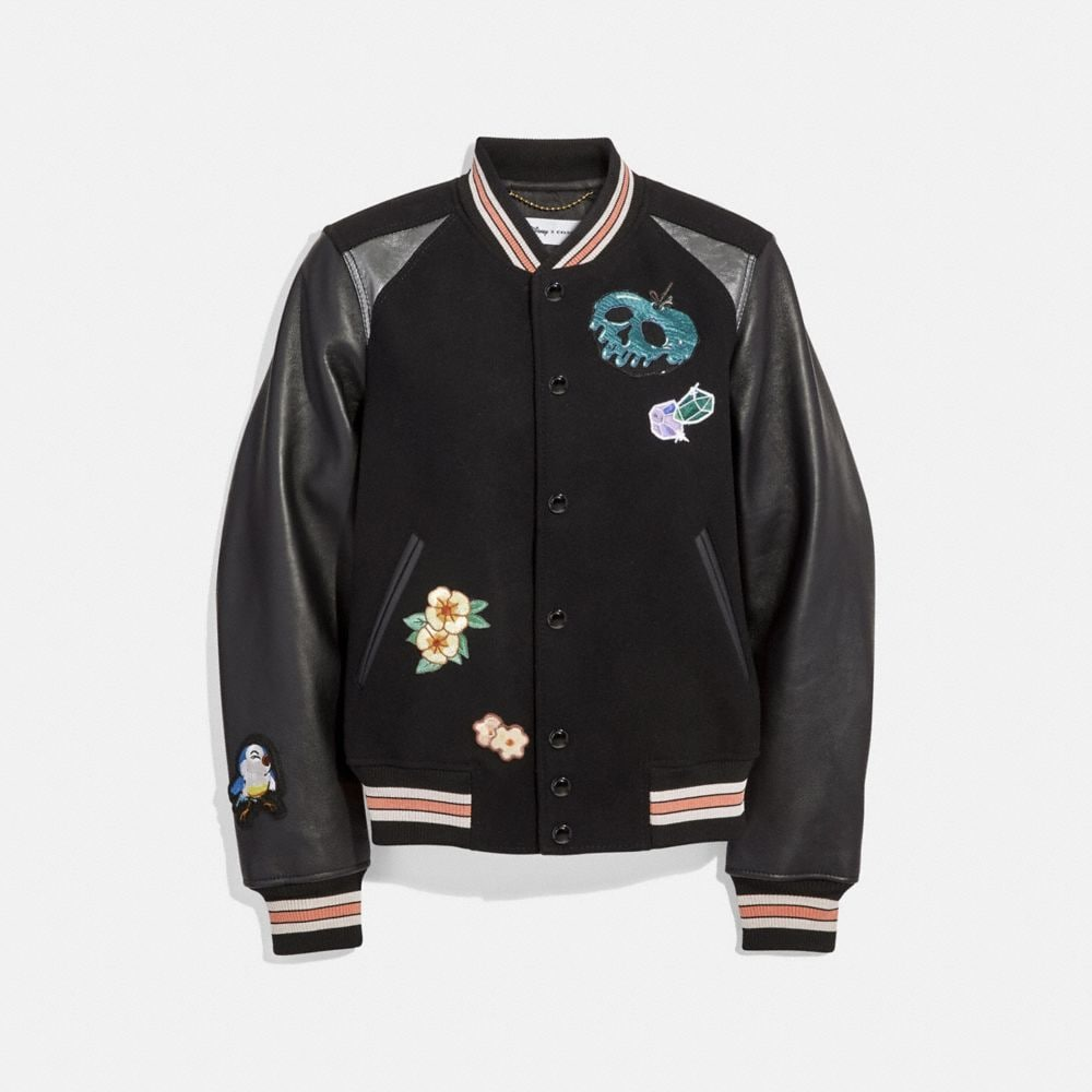 CHAQUETA UNIVERSITARIA DE DISNEY X COACH